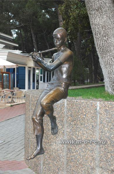 Флейтист в Геленджике